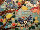 PICU mosaic by Mary Lisa Kitakis-Spano