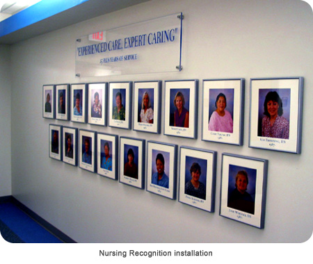 Nursing Recognition installation