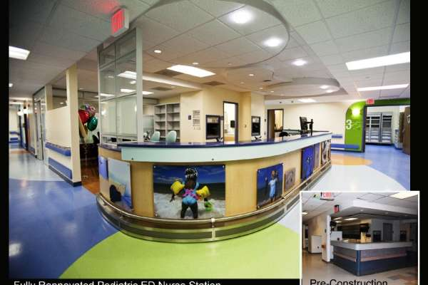 Pediatric ED Nurse Station