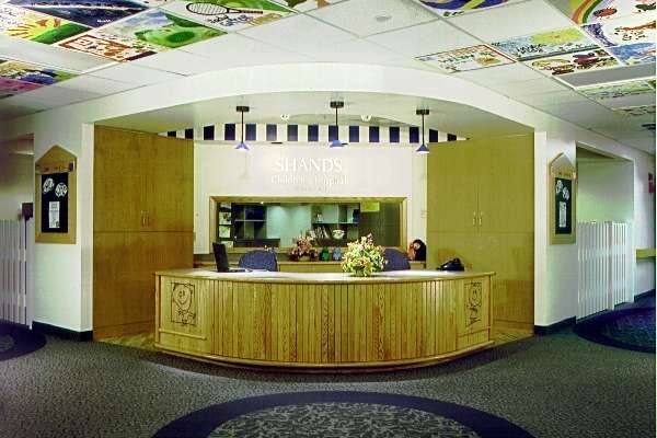 Healing Ceiling Installation at Shands Children's Hospital