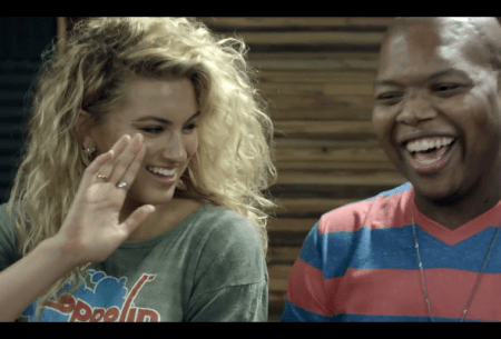Tori Kelly and Jamal