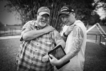 Here and Now through a Veteran's Lens