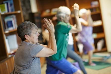 Tammy Bernard, Yoga Therapist, UF Health Integrative Medicine