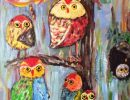Deborah Thompson Owls