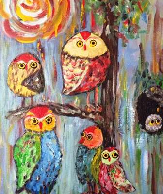 Deborah Thompson Owls