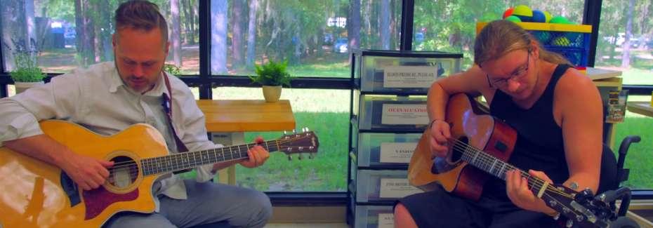 Jason and Mark at Rehab