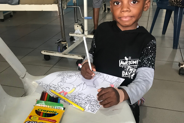 patient coloring