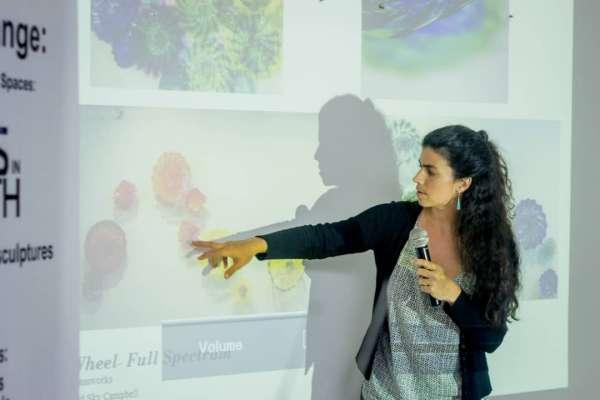 sarah presenting