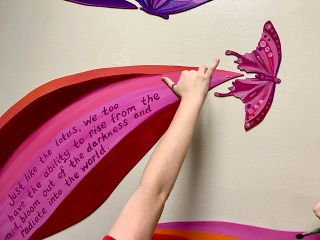 Painting a quote