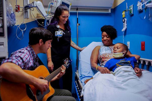 Ricky, nurse Emily, Tyheim Simmons